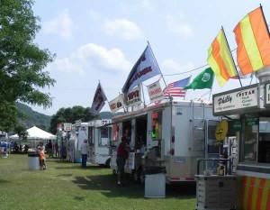 Food Vendors / Fest Tent Open