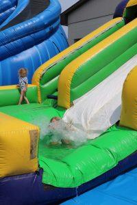 Kids Water Slides @ Fest Grounds at Creekside Park